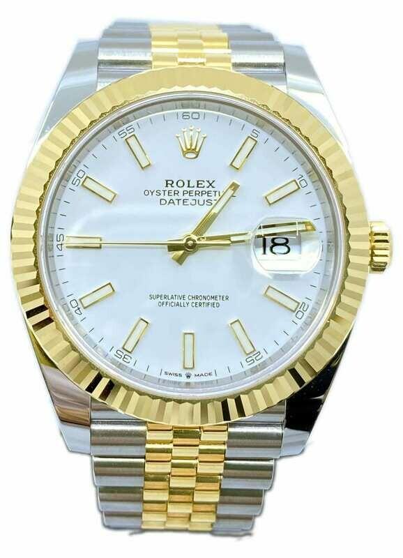Rolex Datejust M126333 18k/SS
