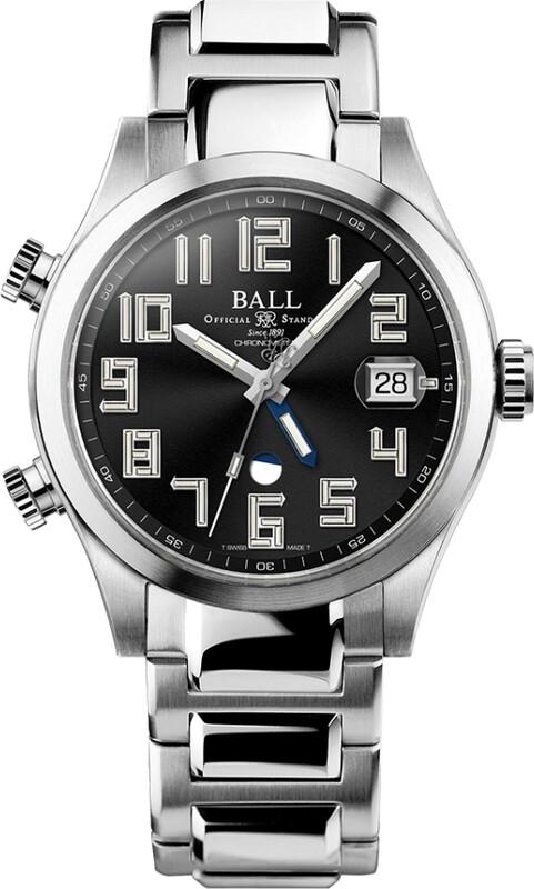 Ball Engineer II Timetrekker Black Dial