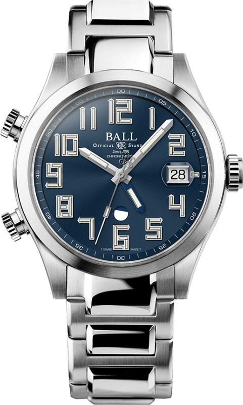 Ball Engineer II Timetrekker Blue Dial