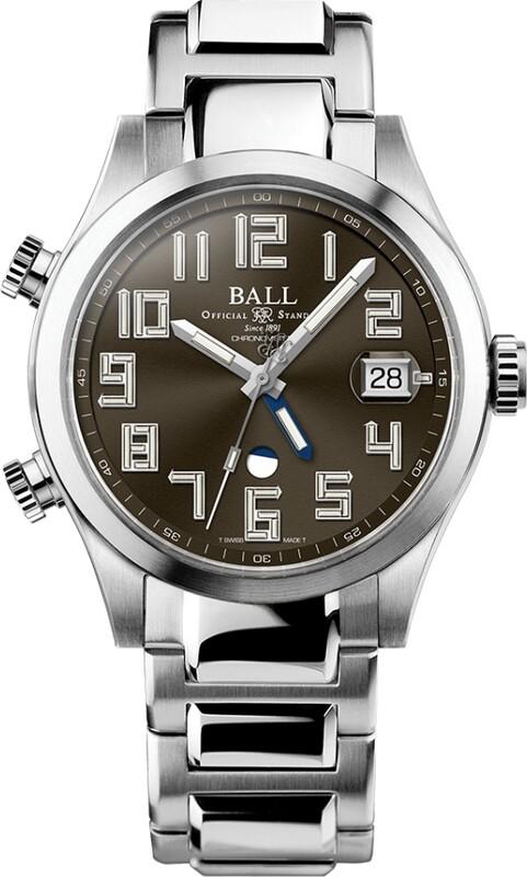 Ball Engineer II Timetrekker Brown Dial