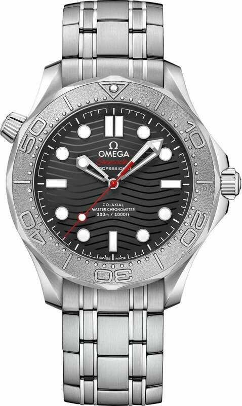 Omega Seamaster Diver 300 Master Chronometer Nekton Edition on Bracelet