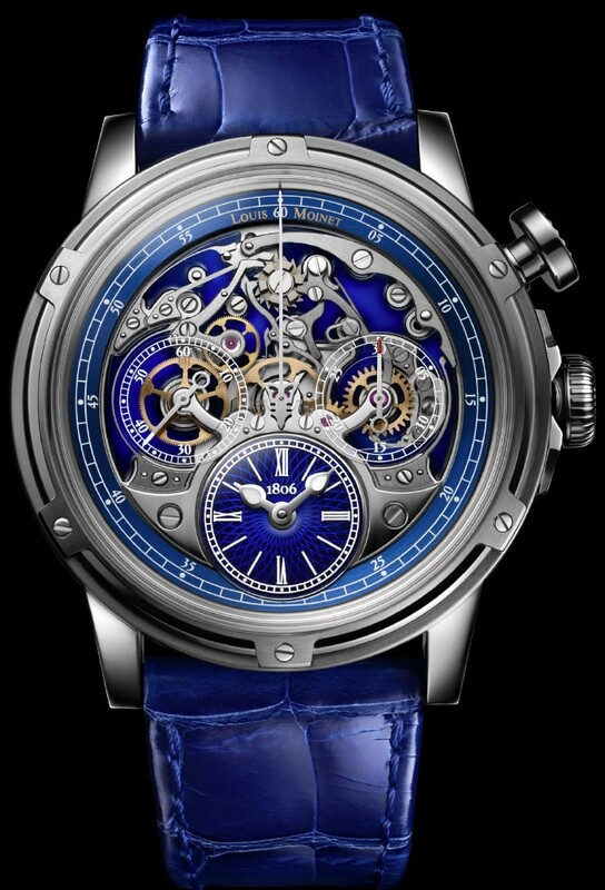 Louis Moinet Memoris Superlight Limited Edition LM-79.20.20