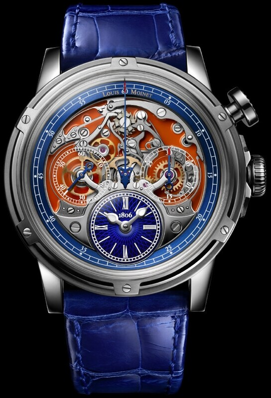 Louis Moinet Memoris Superlight Limited Edition LM-79.20.30