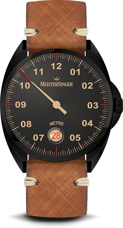 MeisterSinger Metris Black Line ME902BL