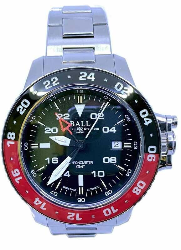 Ball Engineer Hydrocarbon AeroGMT II Blue Dial DG2017C-S3C-BE