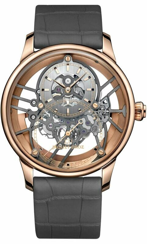 Jaquet Droz Skelet-One Red Gold