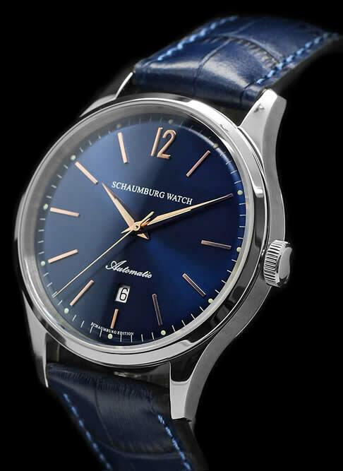 Schaumburg Watch Classoco 1950 Blue Dial