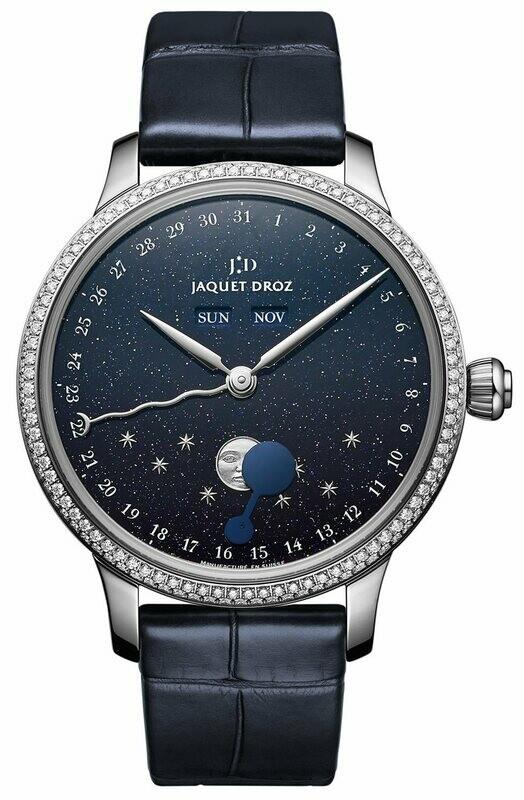Jaquet Droz Eclipse Aventurine Dial