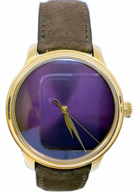 H. Moser & Cie. Endeavour Centre Seconds Concept Purple