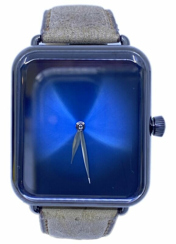 H. Moser & Cie. Swiss Alp Watch Funky Blue DLC