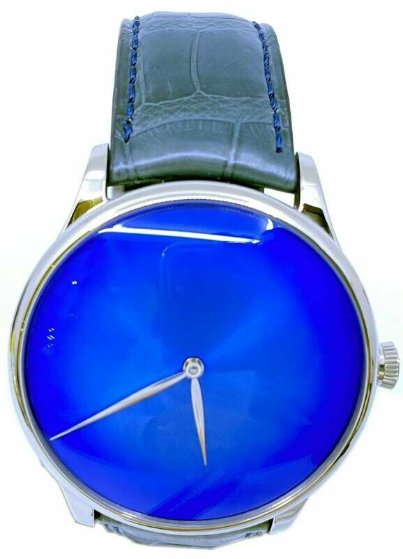 H. Moser & Cie. Venturer Arctic Blue Concept White Gold