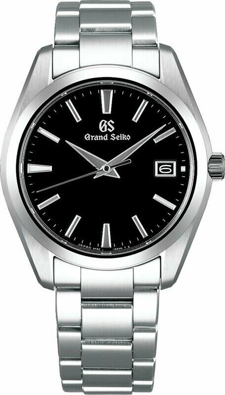 Grand Seiko SBGV223 Black Dial