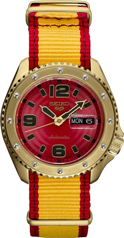 Seiko 5 Street Fighter Zangief Limited Edition