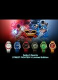 Seiko 5 Street Fighter Limited Edition Set
