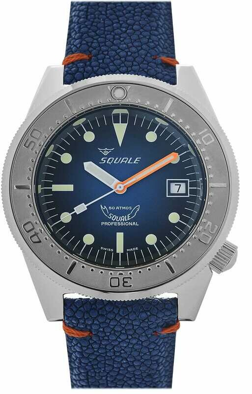 Squale 1521 Blue Ray
