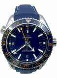 Planet Ocean 600M Omega Co-axial GMT 43.5mm 232.30.44.22.03.001