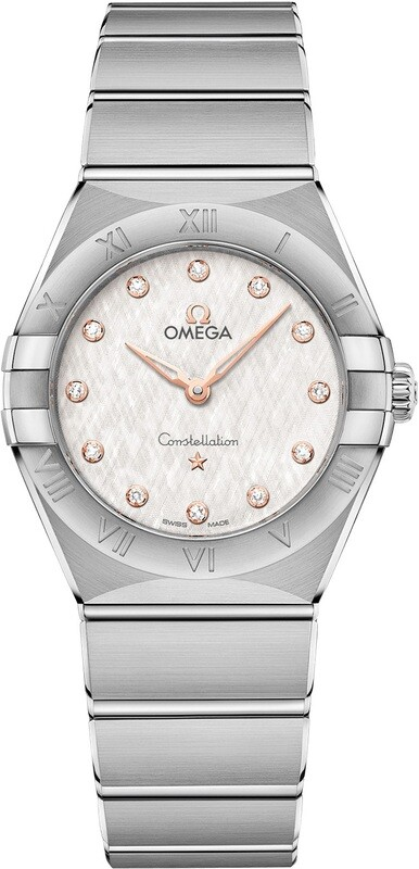 Omega Constellation Steel Diamonds 131.10.28.60.52.001