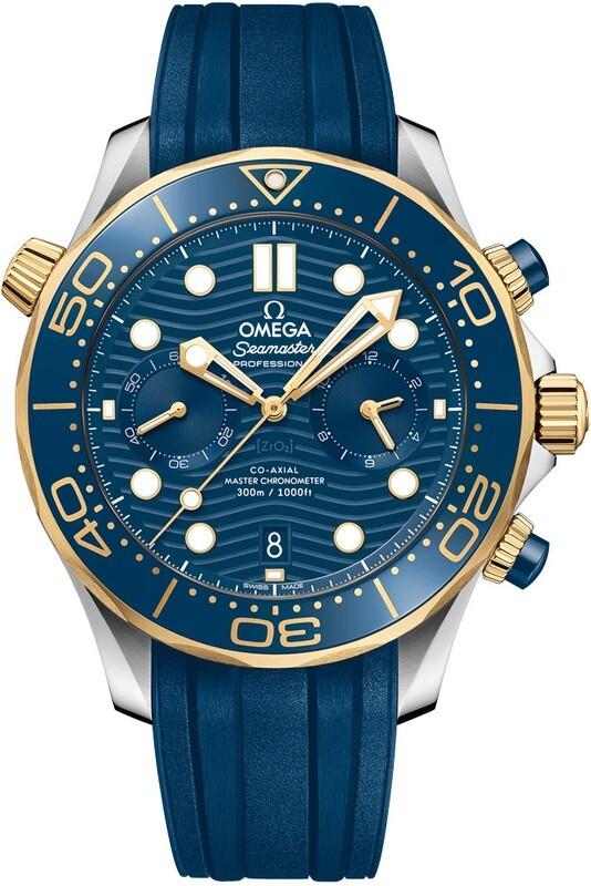 Omega Seamaster Diver 300M Master Chronometer Blue Dial 210.22.44.51.03.001