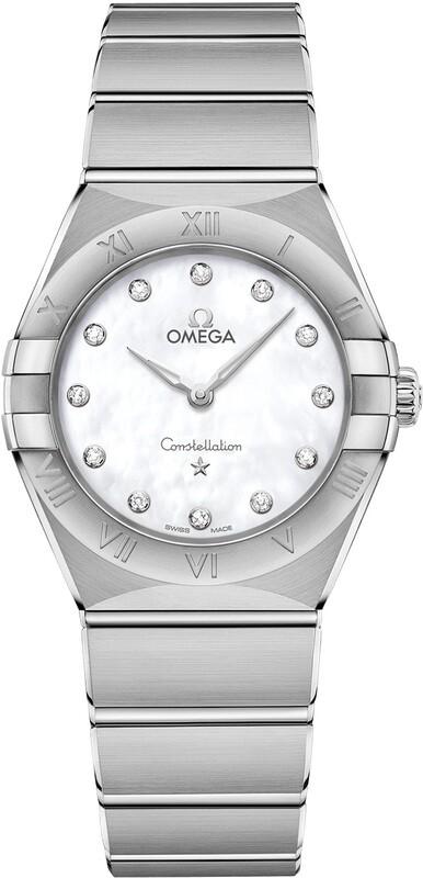 Omega Constellation Steel Diamonds 131.10.28.60.55.001
