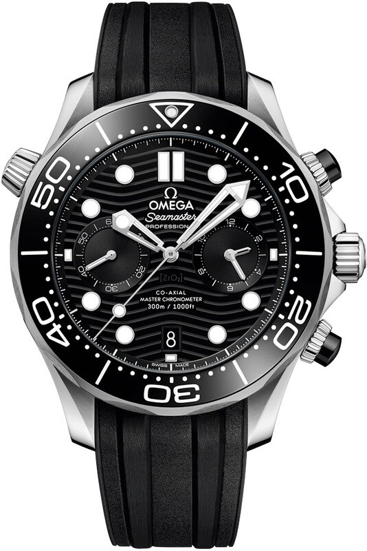 Omega Seamaster Diver 300M Chronograph Black Dial