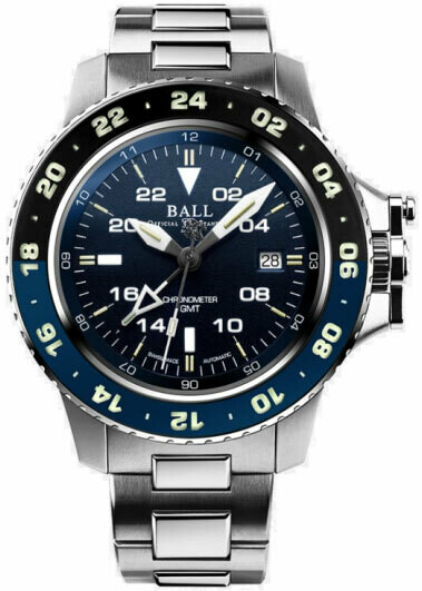 Ball Engineer Hydrocarbon Blue Dial GMT DG2018C-S10C-BE