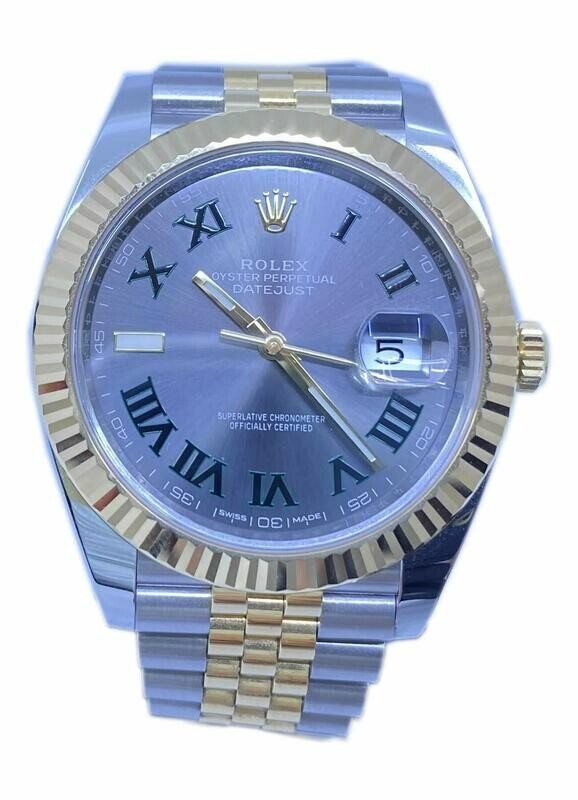 Rolex DateJust Wimbledon Dial Two Tone 126333