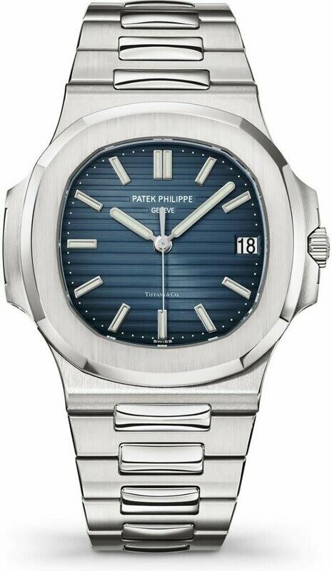 Patek Philippe Nautilus 711-1A Blue Dial Tiffany