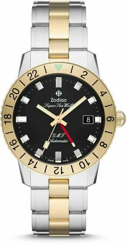 Zodiac Super Sea Wolf GMT Two-Tone