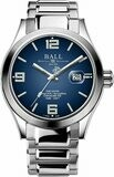 Ball Engineer III Armor Blue Dial Rainbow Tubes 43mm