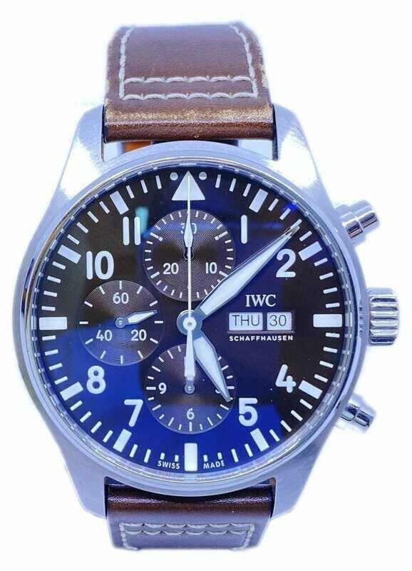 IWC Pilot Antoine de Saint Exupery Chronograph IW377713
