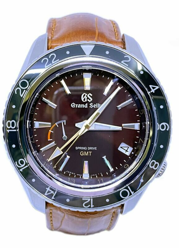 Grand Seiko Sport Spring Drive GMT Limited Edition SBGE245 Extremely Rare 600 Pieces