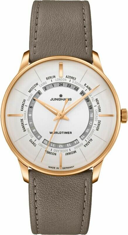 Junghans Meister Worldtimer 027/5012.02