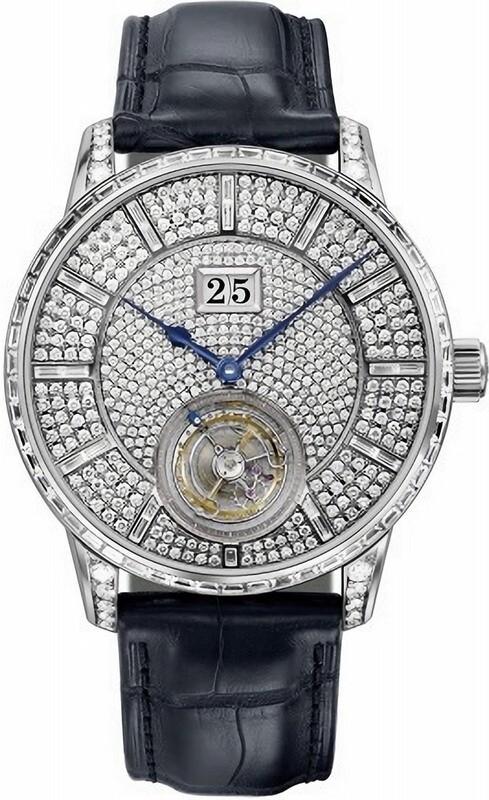 Glashütte Original Senator Tourbillon Diamonds Limited Edition