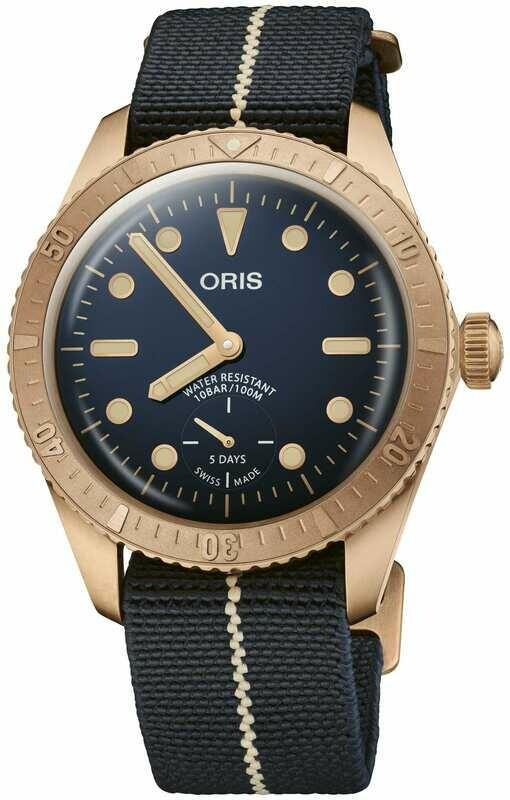 Oris Carl Brashear Calibre 401 Limited Edition