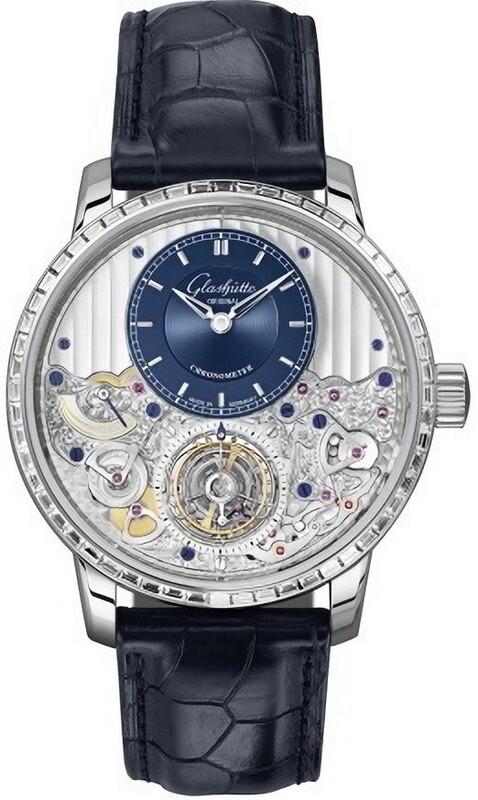 Glashütte Original Senator Chronometer Tourbillon Diamonds Bezel