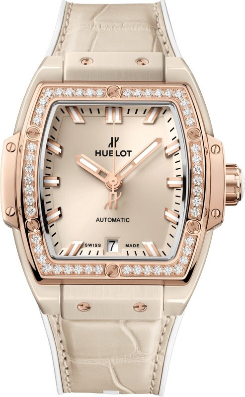 Hublot Spirit of Big Bang Beige Ceramic King Gold Diamonds
