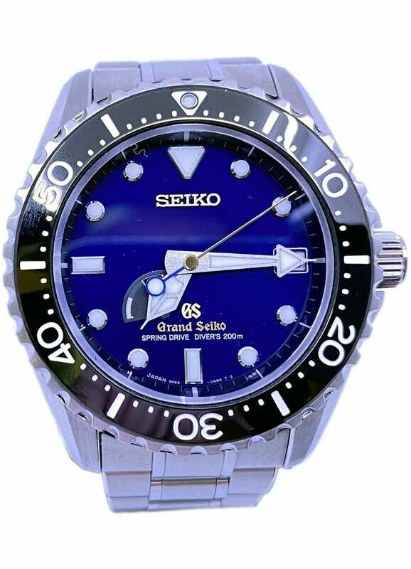 Grand Seiko Spring Drive Diver Asia Limited Edition SBGA071