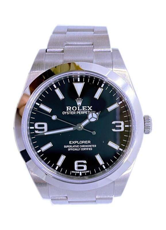 Rolex Explorer Oyster 39 mm Oystersteel 214270