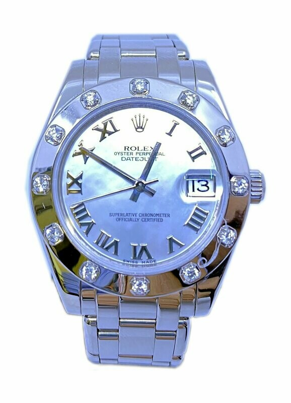 Rolex Pearlmaster18k White Gold 81319