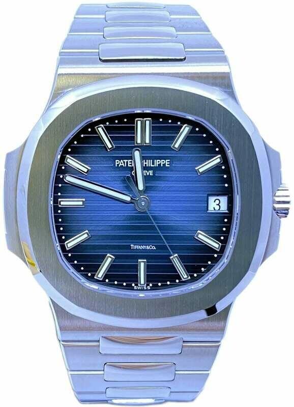 Patek Philippe Nautilus 5711-1A Blue Dial Tiffany
