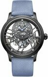 Jaquet Droz Skelet-One Plasma Ceramic Blue