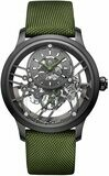 Jaquet Droz Skelet-One Plasma Ceramic Green