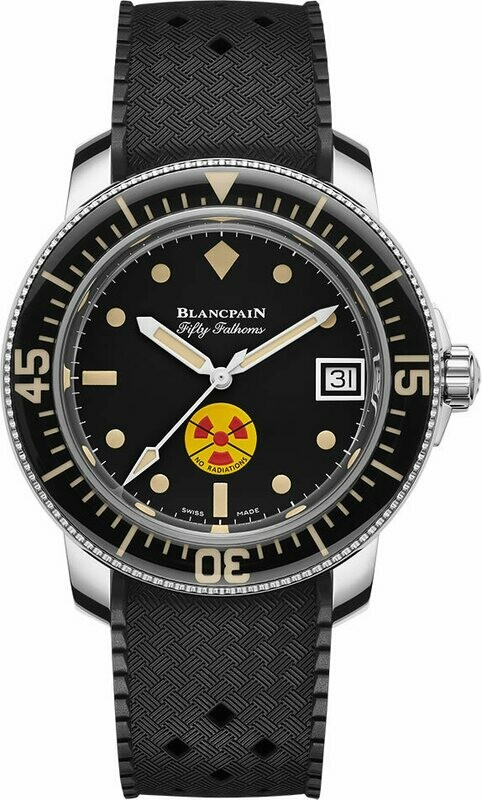 Blancpain Tribute to Fifty Fathoms No Rad Limited Edition