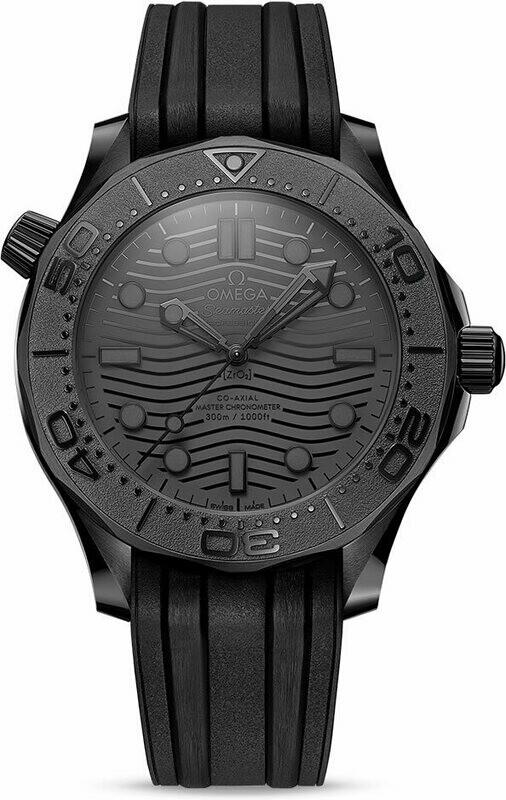 Omega Seamaster Diver 300 Black Ceramic Black Dial