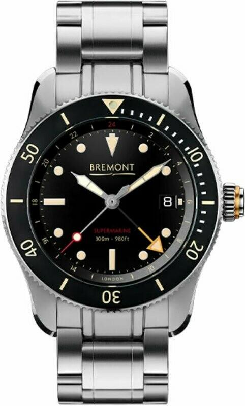 Bremont S302 on Bracelet