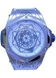Hublot Sang Bleu Titanium White 45mm 415.NX.2027.XR