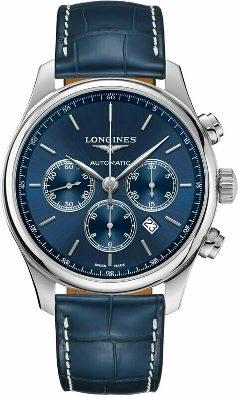 Longines Master Collection Blue Dial 44mm L2.859.4.92.0