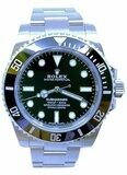 Rolex Submariner Stainless Steel Black Dial M114060-0002
