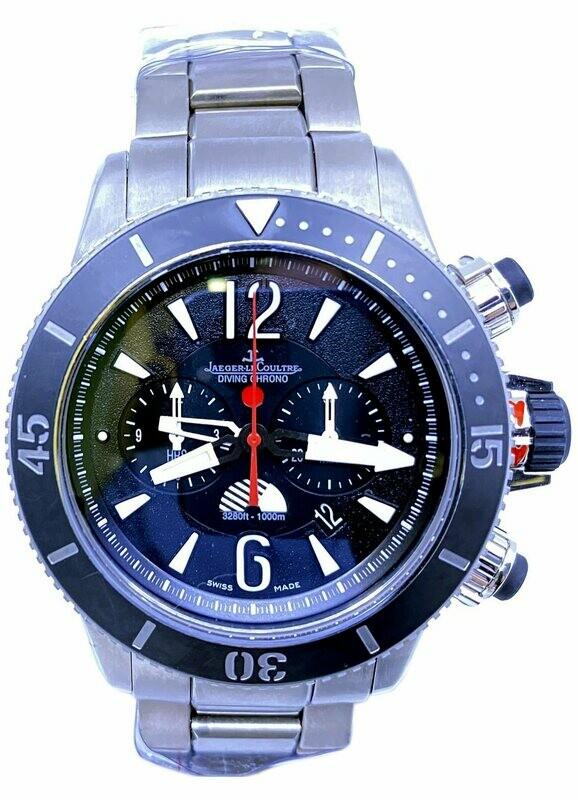 Jaeger LeCoultre Compressor Diving Chronograph GMT Navy Seals Q178T670