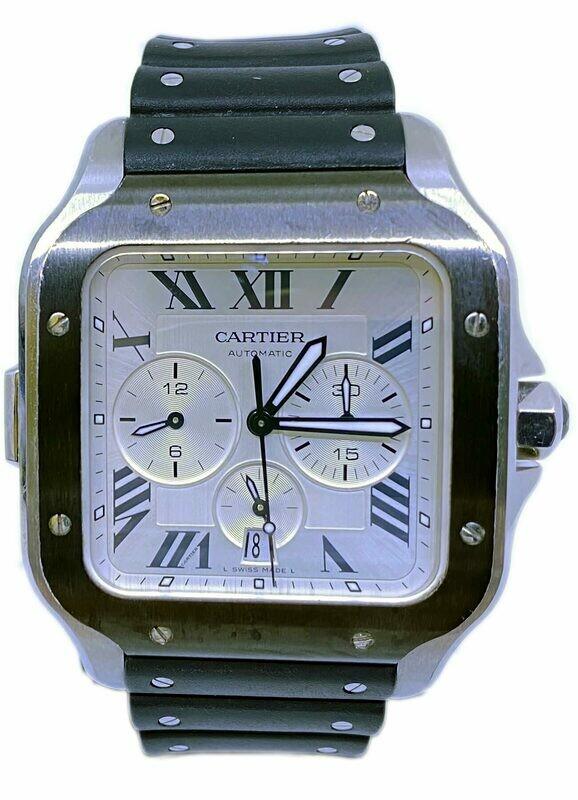 Cartier Santos de Cartier Chronograph WSSA0017